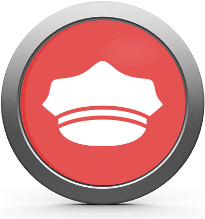 Parking Enforcemen Warden Ticketing Icon