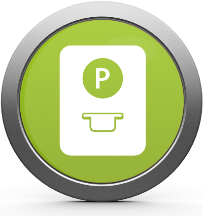 Parking Management Pay & Display Icon