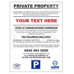 Car Parking Signs - Order Today For Quick Delivery